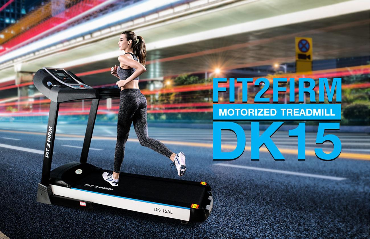 ลู่วิ่งไฟฟ้า ฟิตทูเฟิร์ม รุ่น DK-15 - 3.0 CHP motor