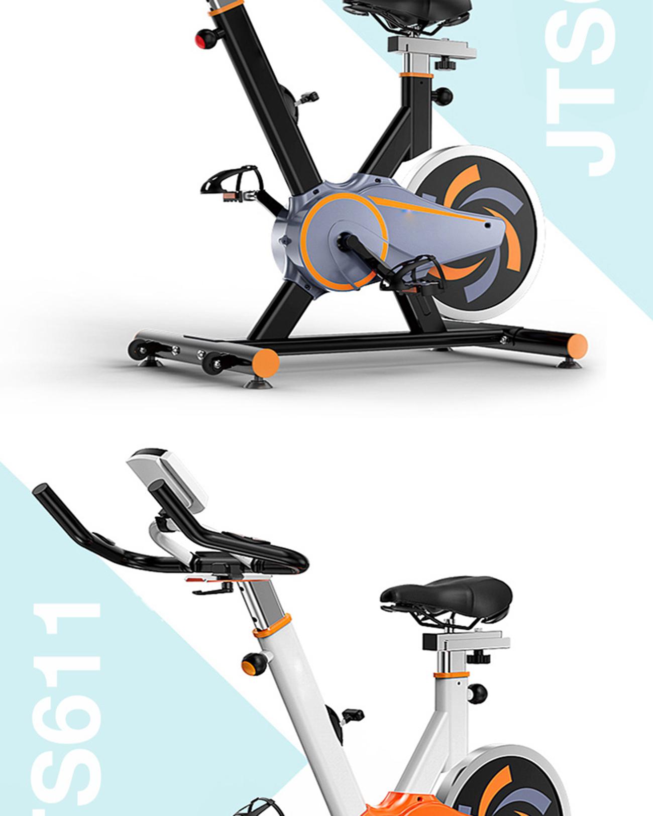 จักรยานนั่งปั่นออกกำลังกาย รุ่น JTS611-1 สีดำ