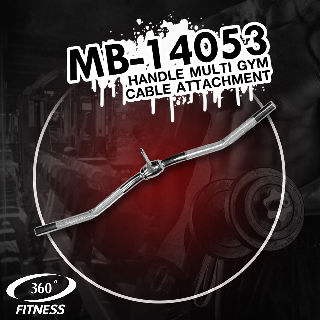 Handle Multi Gym Cable Attachment (MB-14053)