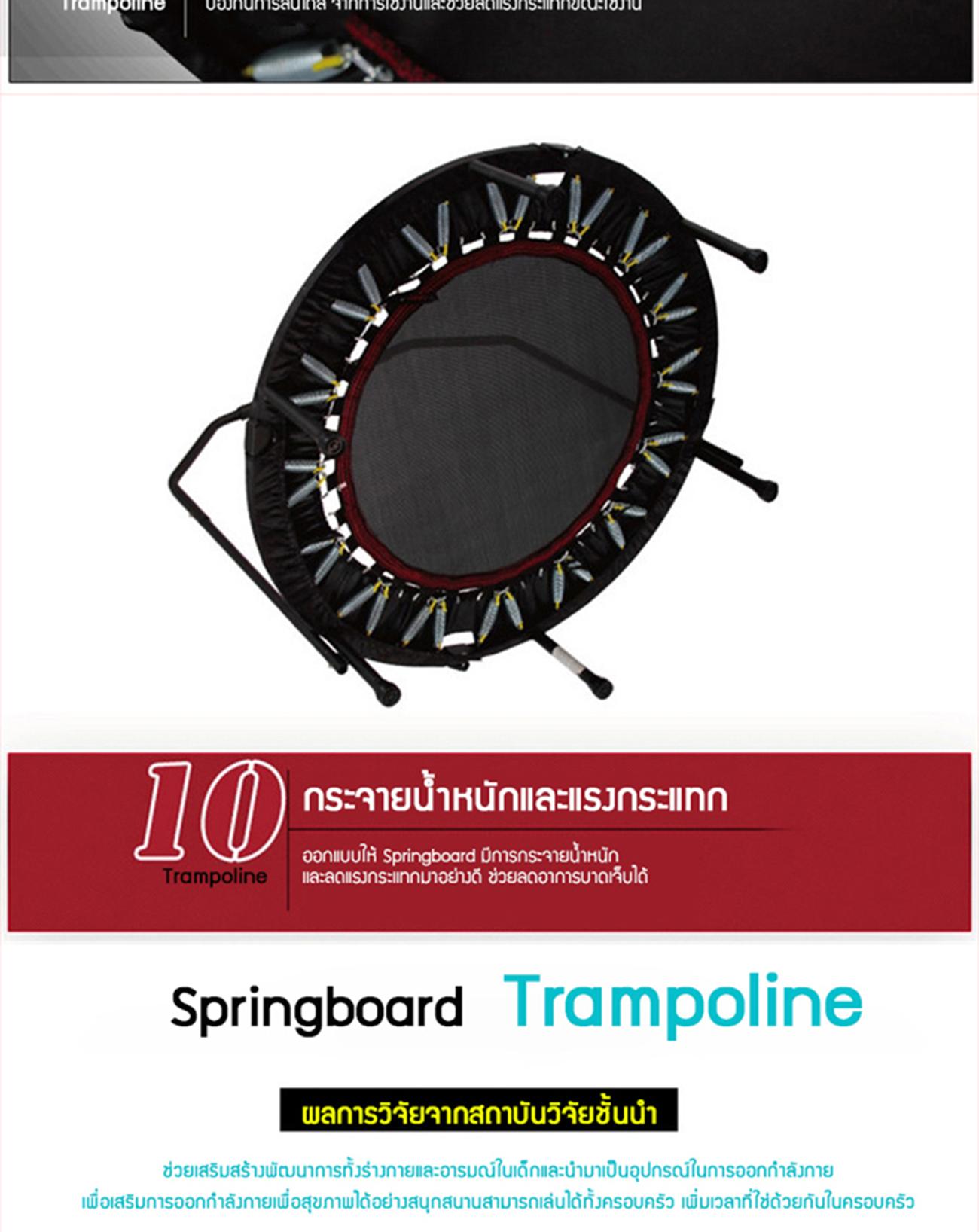 สปริงบอร์ด แทรมโพลีน (Trampoline Sport)