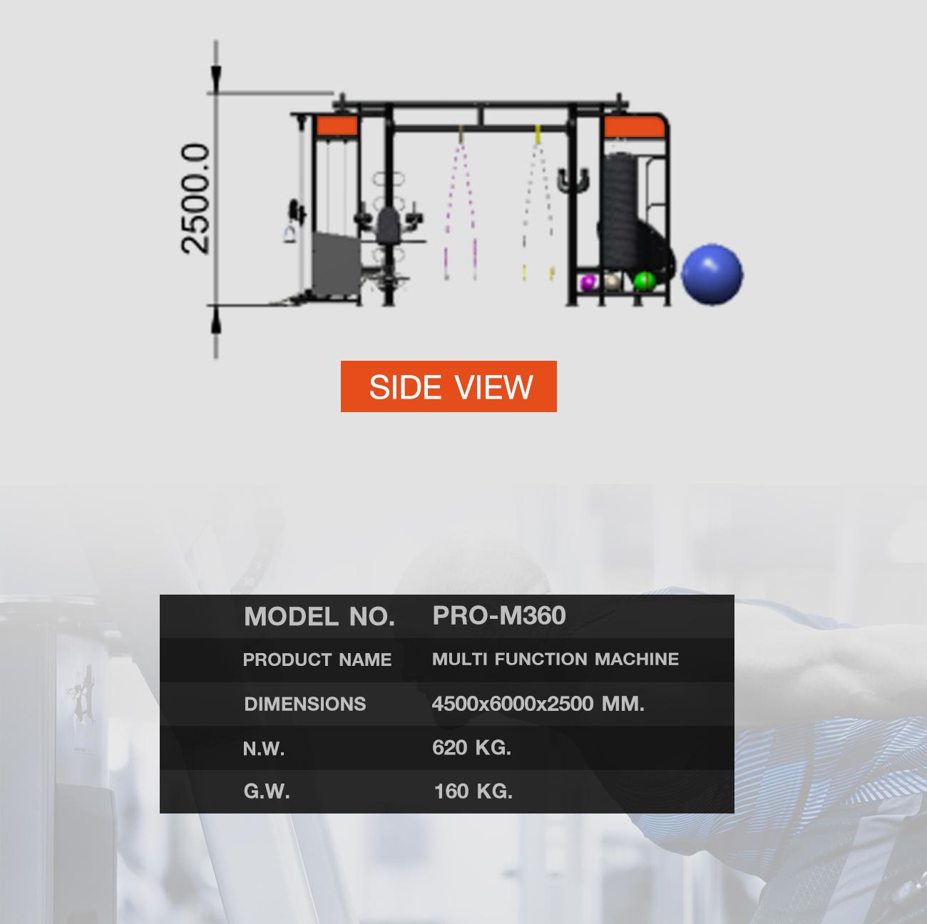 360 Ongsa Multi Function Machine