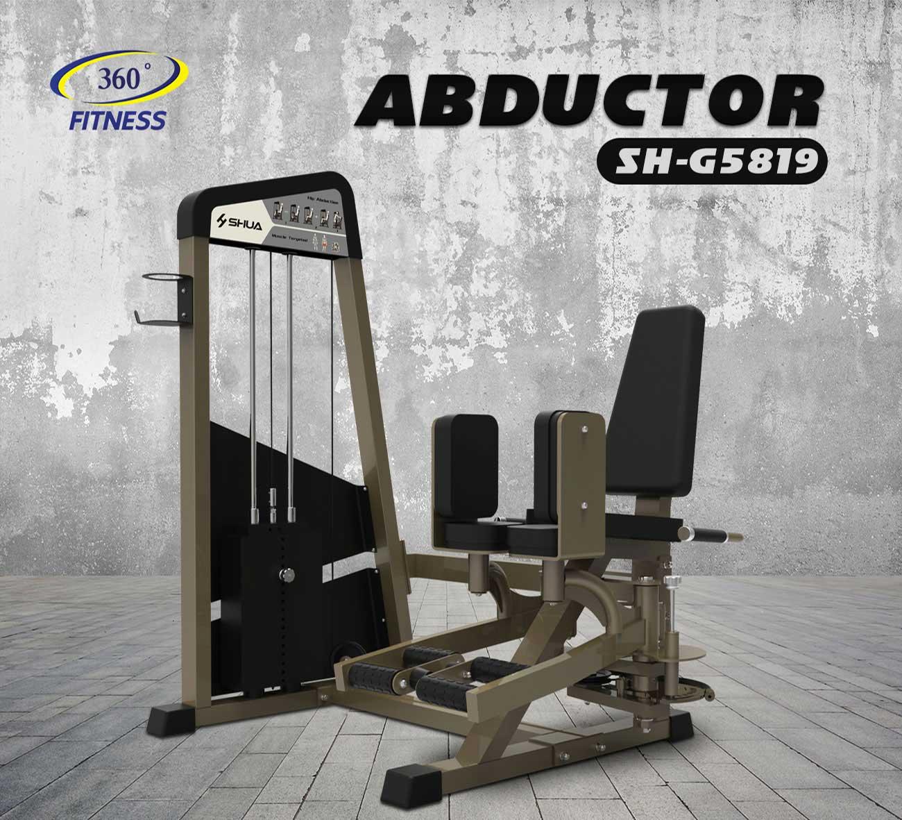 เครื่องบริหารกล้ามเนื้อส่วนขาบริเวณต้นขาด้านในและด้านนอก Adductor/Abductor (SH-G5819)