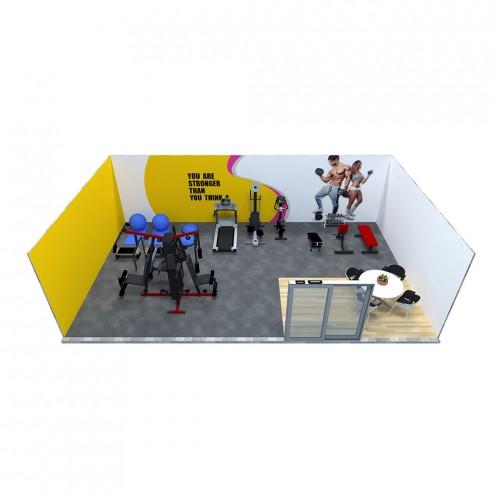 ห้องฟิตเนสสำหรับ 40 – 60 ตารางเมตร (FR103)