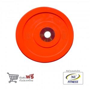 แผ่นเหล็กยกน้ำหนัก หุ้มยาง BUMPER PLATES - 15KG (MB12127-15KG)